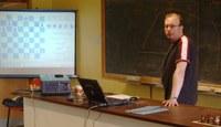 Steve Scannell making his presentation