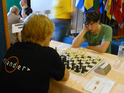 Kark McPhillips vs Karttunen of Tampere (Photo source: Official website)