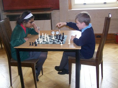 Players in the Stormont Elite Chess Tournament