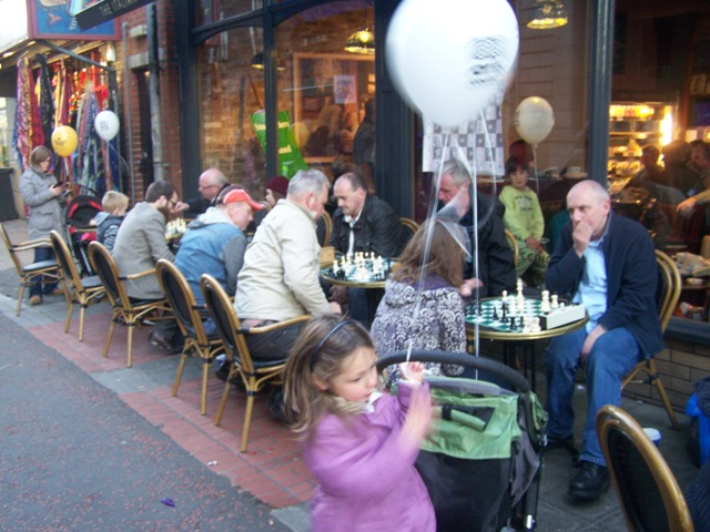 All the tables full - Belfast Culture Night