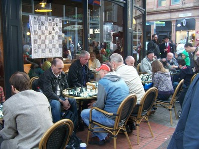 Busy or what! - Chess at Belfast Culture Night