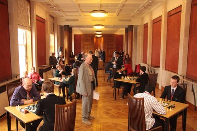 The Stormont Elite 2012 being played in the Long Room