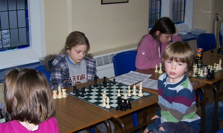 January  Childrens Chess: a primary one comes second