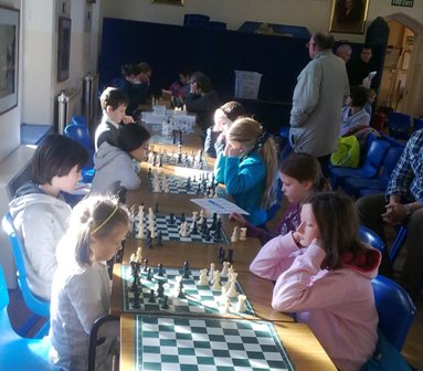 The youngest player battles the eventual U12 Champion.
