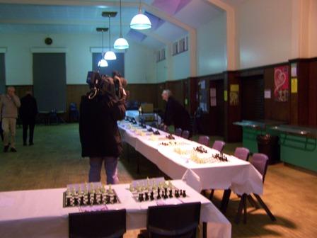 The BBC checking equipment