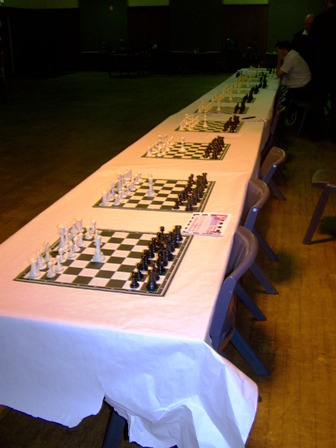White King in centre - Nigels wins