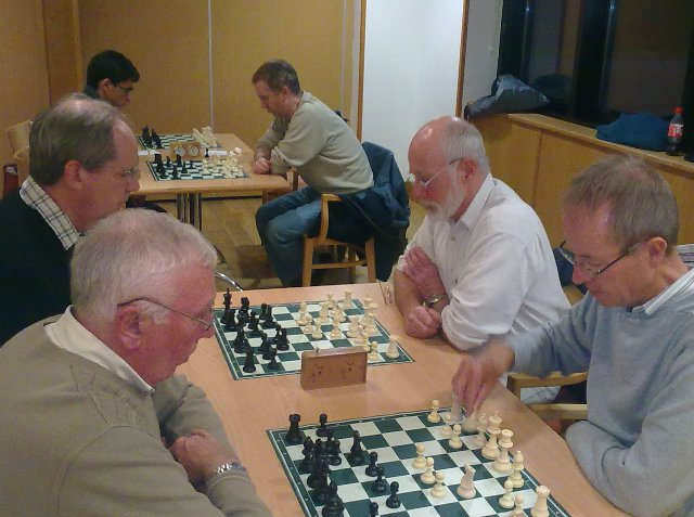 Concentrating on the game - Stewart, Ian, Neil, Roy