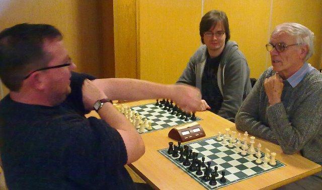 Fighting to win Eddie, Robert and Damien