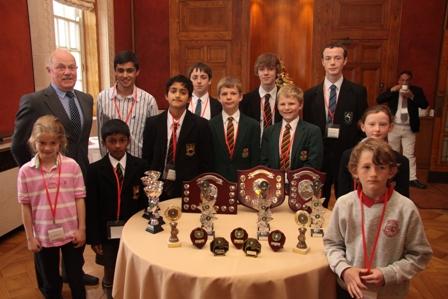 The Belfast Scholastic Chess Shields.