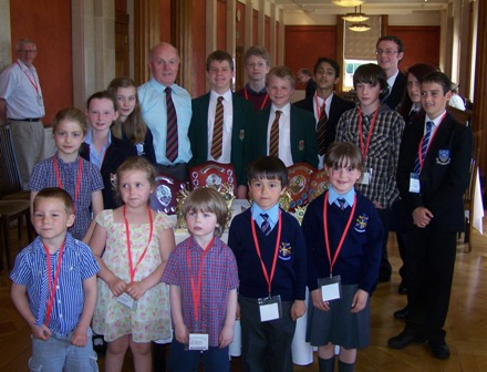 Top young chess players enjoy Stormont
