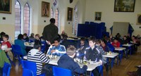 Ulster Schools Individual Chess Championships : Saturday Nov 3rd