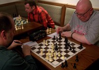 Board 1: Mark Newman vs Frank Carrothers
