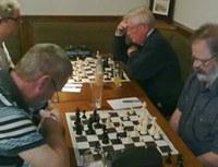 Boards 2 & 3: Ciaran Marron vs Alan Burns, Neil Fisher vs Drew Ferguson