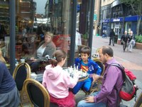 Chess fun and enthusiasm at Belfast Culture Night