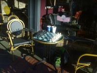 Belfast Culture Night. Cafe Chess Playing at Caffe Nero, 19 Lombard St. 19th September 4:00pm til late