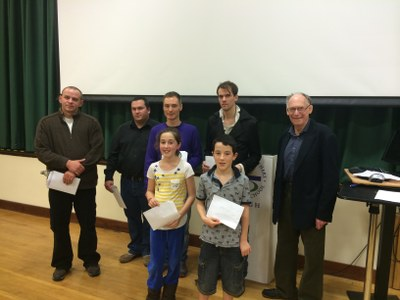 Omagh Rapidplay Winners