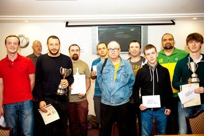 2015 Ulster Championship Prize Winners