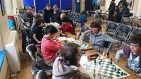Top twins back from the London Junior Chess Championships