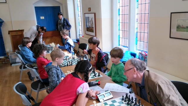 The Belfast London Junior Chess Championship Qualifier