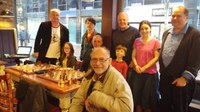 At Belfast Cafe Nero Chess players took part in unique international event: Chris Ross Simultaneous