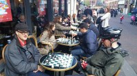 A wonderful evening of Coffee and Chess at Caffe Nero