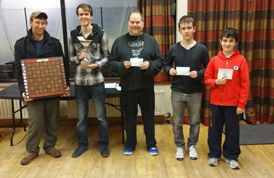 2015 Ulster Masters Prize Winners