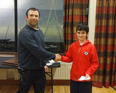 Grading Prize - Peter Todd