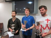 Report - Ulster Championships 2016, Europa Hotel Belfast