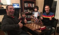 24 HOUR CHESS-ATHON - News report from Brendan Jamison