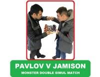 Monster Double Simul Match: Pavlov v Jamison