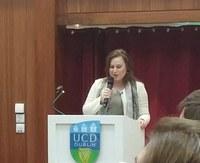 Top Chess Player Judith Polgar talks at UCD