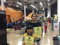 Aaditya and Anjali travel to the London Junior Chess Championship