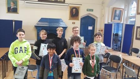 London Junior Chess Championship Qualifier - Belfast 2017