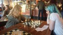 Belfast Culture Night 2018 lots of chat, coffee and chess