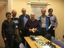 Presentation to Ray Devenney for outstanding contribution to Ulster Chess