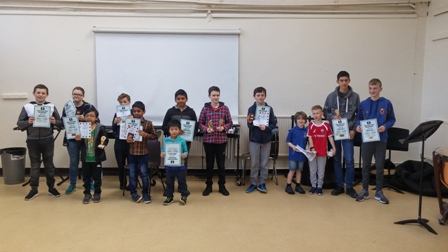Top young chess players compete in Belfast LJCC Qualifier