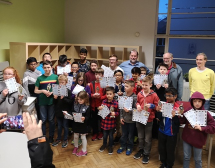2nd November saw the Childrens Chess series of Tournaments Start