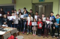 Top Ulster Youngsters playing Chess at Methodist College