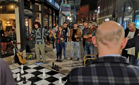 A night and a day of Cafe Chess at Culture Night/Day Belfast 2019