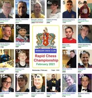 Tournament Report: Bangor Rapid Championship sees 40 players out in force!