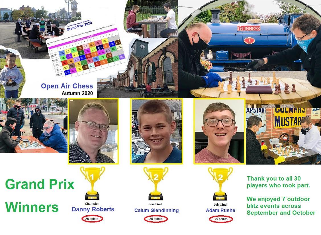BREAKING NEWS: Danny Roberts wins the NI Open Air Blitz Grand Prix.