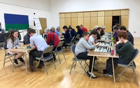 Doubles Rapidplay chess tournament