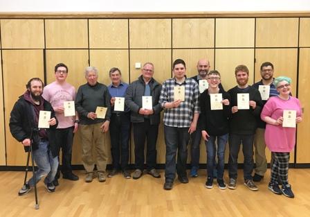 Winners Bangor Active 02 May 2019