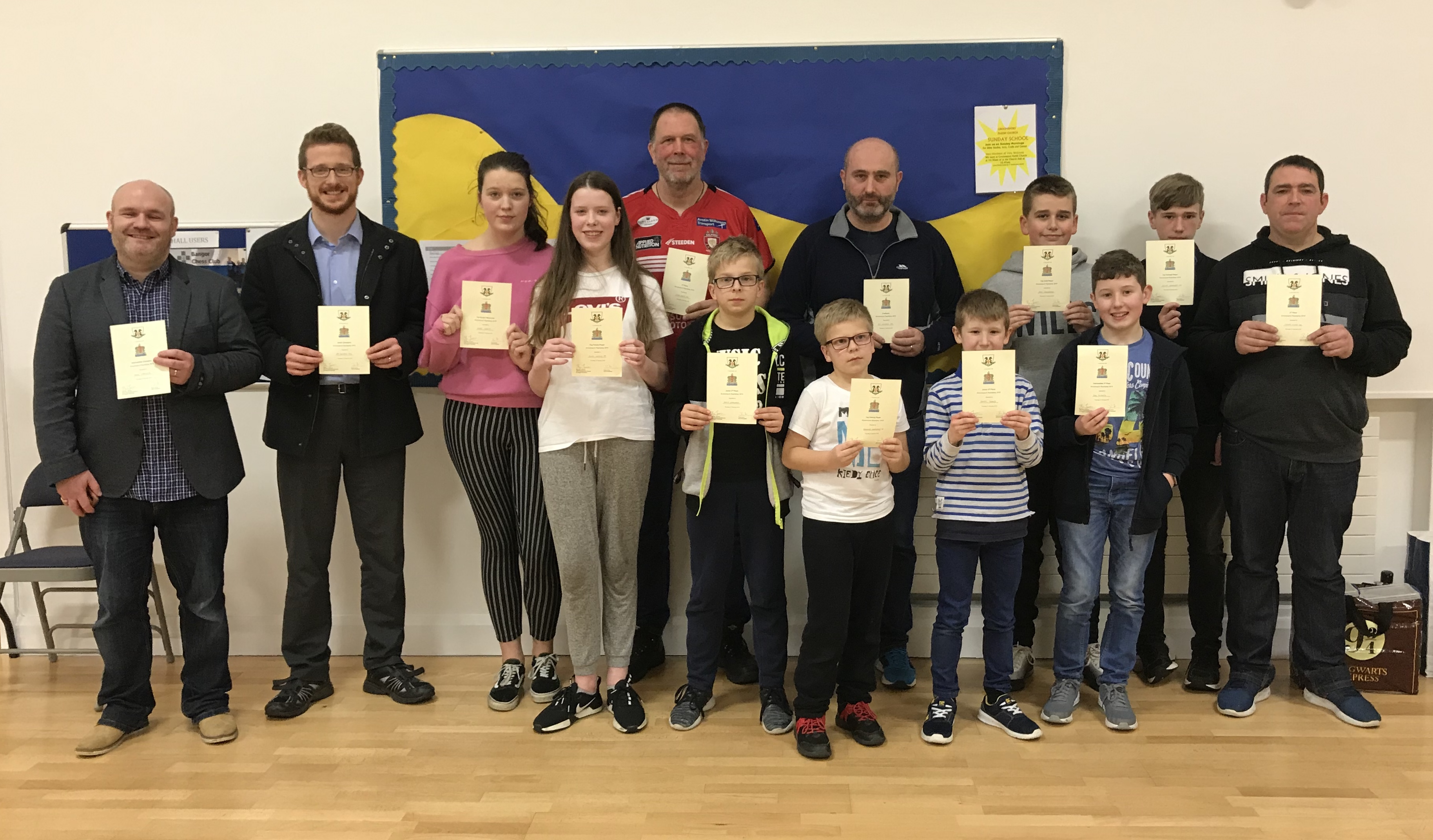 Players from USA and Poland flock to Groomsport for speed chess competition